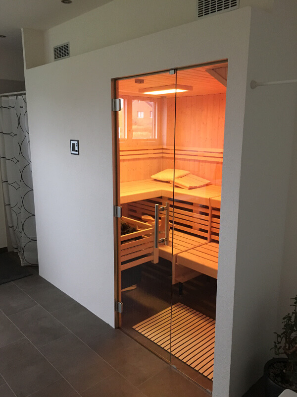 SAUNA INSTALLATION IN DIEDORF